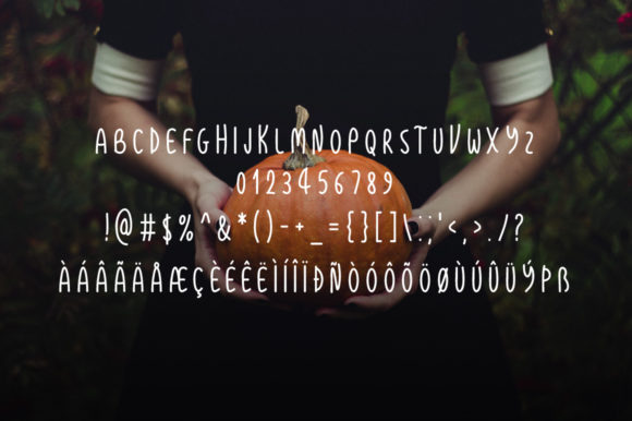 Print on Demand: Thanksgiving Display Font By Instagram Fonts - Image 4
