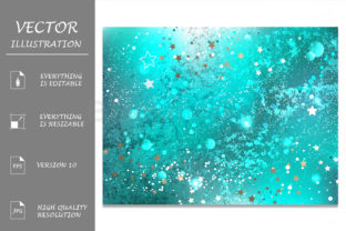 Turquoise Foil Background Graphic By Blackmoon9