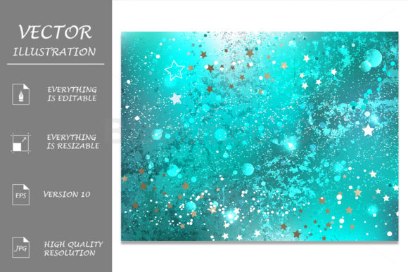 Turquoise Foil Background Graphic Backgrounds By Blackmoon9
