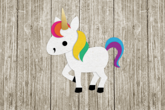 Download Free Unicorn Graphic By Risarocksit Creative Fabrica for Cricut Explore, Silhouette and other cutting machines.