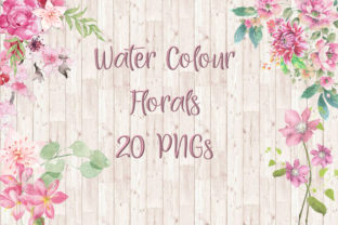 Watercolour Florals Graphic By The Paper Princess