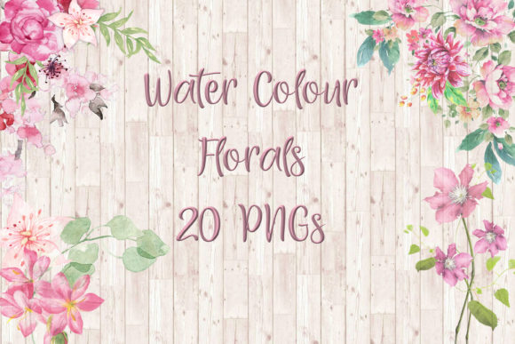 Print on Demand: Watercolour Florals Graphic Illustrations By The Paper Princess
