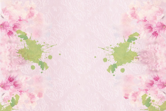 Print on Demand: Watercolour Garden Backgrounds Graphic Backgrounds By The Paper Princess - Image 3