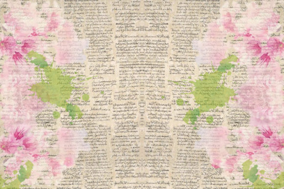 Print on Demand: Watercolour Garden Backgrounds Graphic Backgrounds By The Paper Princess - Image 4
