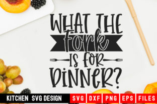 Print on Demand: What the Fork is for Dinner Graphic Crafts By Designdealy