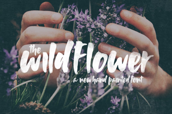 Print on Demand: Wildflower Script & Handwritten Font By Salt & Pepper Designs