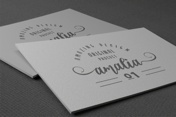 Print on Demand: Abigail Script Script & Handwritten Font By fanastudio - Image 4