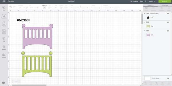 Download Free How To Make A Baby Crib Box Card Creative Fabrica for Cricut Explore, Silhouette and other cutting machines.