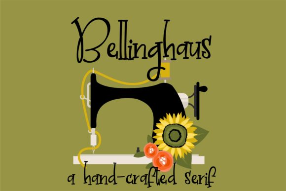 Print on Demand: Bellinghaus Serif Font By Illustration Ink - Image 1