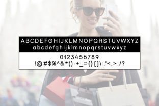 Print on Demand: Black Friday Display Font By Instagram Fonts 4
