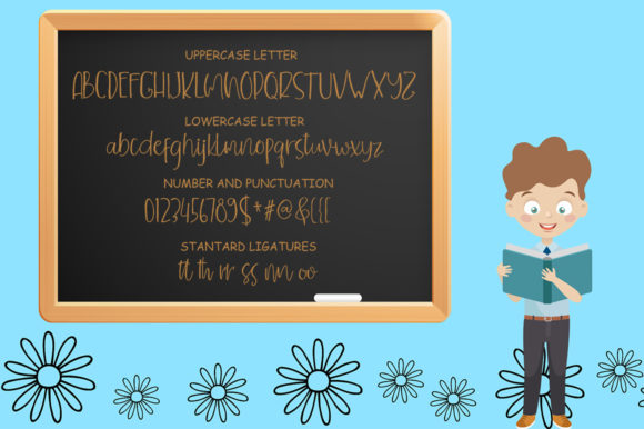 Children Funny Font By delishadesign.font Image 3
