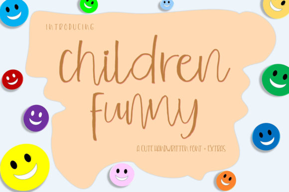 Children Funny Font By delishadesign.font Image 6