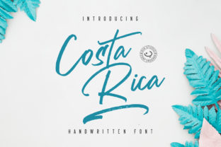 Costa Rica Font By Din Studio