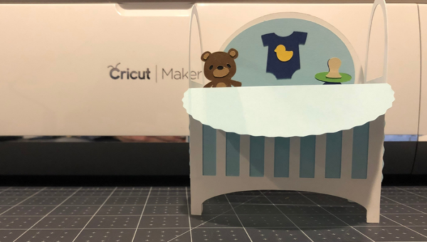 Download Free How To Make A Baby Crib Box Card Creative Fabrica SVG Cut Files
