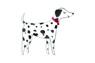 Dalmatian - Watercolor Craft Design By Creative Fabrica Crafts