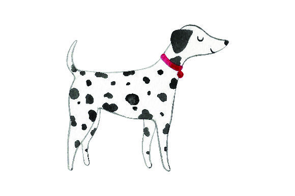 Dalmatian - Watercolor Dogs Craft Cut File By Creative Fabrica Crafts - Image 1