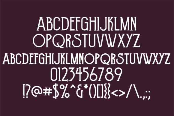 Print on Demand: Dowager Serif Font By Illustration Ink - Image 2