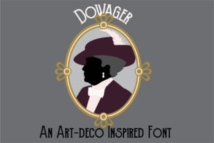 Dowager Font By Illustration Ink