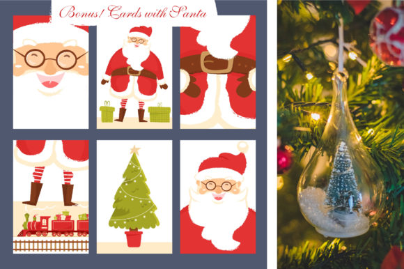 Print on Demand: Christmas Feeling 80 Elements Graphic Illustrations By KatiaZhe - Image 6