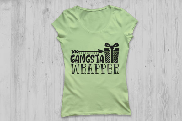 Download Free Gangsta Wrapper Graphic By Cosmosfineart Creative Fabrica for Cricut Explore, Silhouette and other cutting machines.