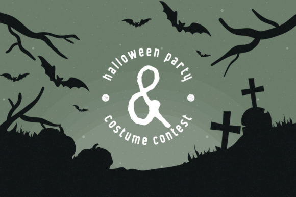 Print on Demand: Halloween Duo Display Font By Headfonts - Image 5