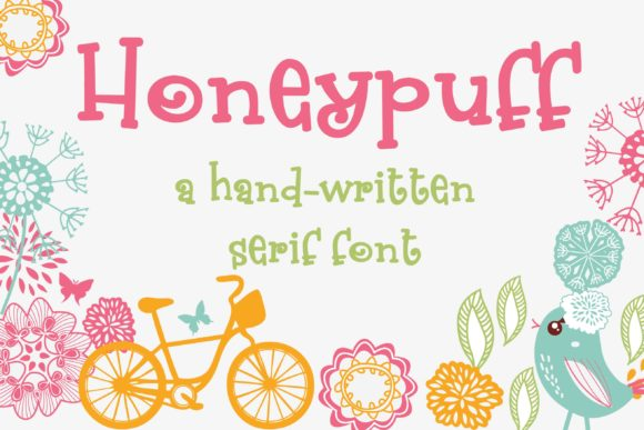 Print on Demand: Honeypuff Script & Handwritten Font By Illustration Ink