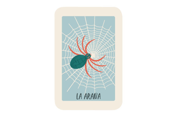 Download Free Loteria La Arana Svg Cut File By Creative Fabrica Crafts for Cricut Explore, Silhouette and other cutting machines.