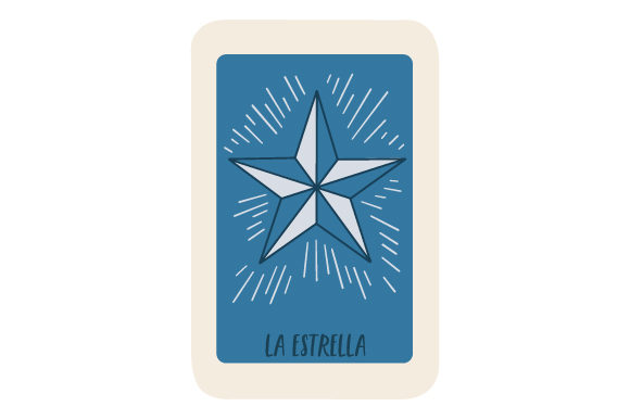 Download Free Loteria La Estrella Svg Cut File By Creative Fabrica Crafts for Cricut Explore, Silhouette and other cutting machines.