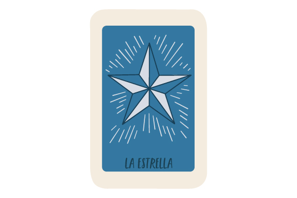 Download Free Loteria La Estrella Svg Cut File By Creative Fabrica Crafts SVG Cut Files
