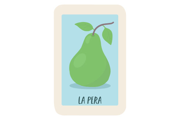 Download Free Loteria La Pera Svg Cut File By Creative Fabrica Crafts for Cricut Explore, Silhouette and other cutting machines.