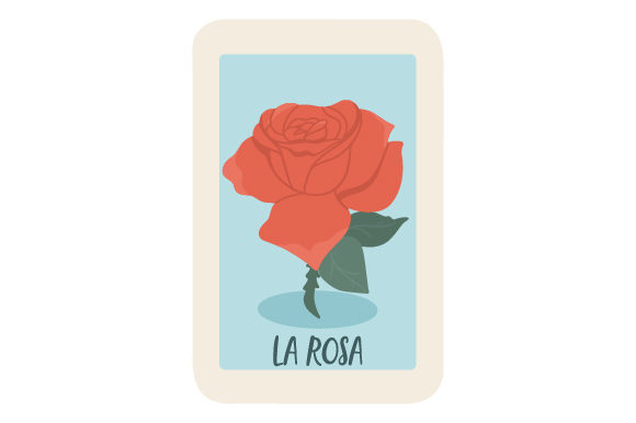 Download Free Loteria La Rosa Svg Cut File By Creative Fabrica Crafts for Cricut Explore, Silhouette and other cutting machines.