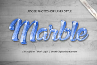 Print on Demand: Photoshop Marble Psychadelic Layer Style Graphic Layer Styles By anomali.bisu