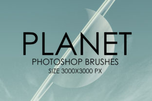 Planet Photoshop Brush Set Graphic By denestudios