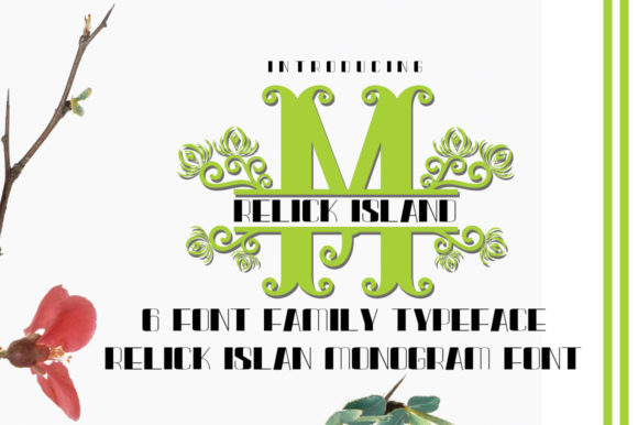 Relick Island Font By jehansyah251 Image 11