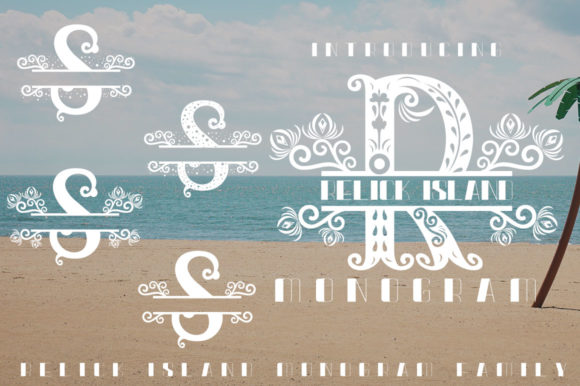 Relick Island Font By jehansyah251 Image 3