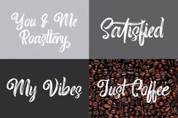 Print on Demand: Roasttery Script & Handwritten Font By feydesign - Image 4