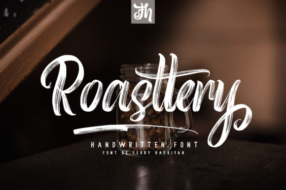 Print on Demand: Roasttery Script & Handwritten Font By feydesign - Image 1