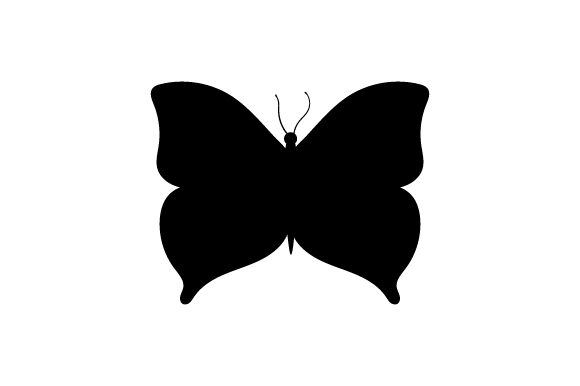 Download Free Silhouette Of Butterfly Svg Cut File By Creative Fabrica Crafts SVG Cut Files