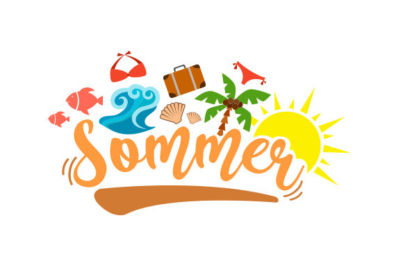 Download Free Sommer Svg Cut File By Creative Fabrica Crafts Creative Fabrica for Cricut Explore, Silhouette and other cutting machines.