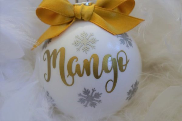 Download Free Personalized Christmas Gifts Christmas Ornaments Creative Fabrica for Cricut Explore, Silhouette and other cutting machines.