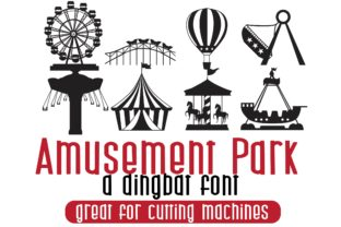 Print on Demand: Amusement Park Dingbats Font By Illustration Ink