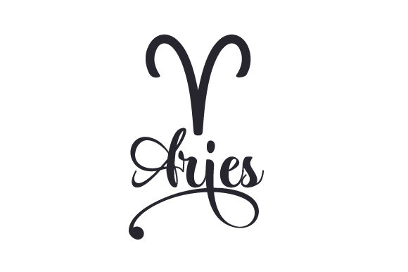 Aries Designs & Drawings Craft Cut File By Creative Fabrica Crafts - Image 1