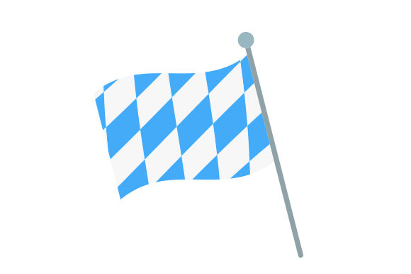 Download Free Bavarian Flag Svg Cut File By Creative Fabrica Crafts Creative for Cricut Explore, Silhouette and other cutting machines.