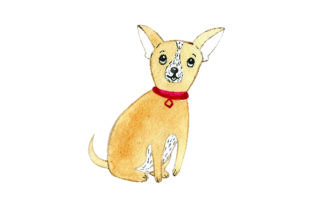 Chihuahua - Watercolor Craft Design By Creative Fabrica Crafts