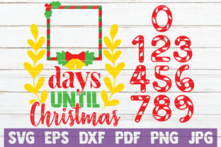 Days Until Christmas Graphic By MintyMarshmallows