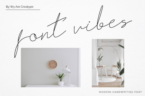 Print on Demand: Fribourg Script & Handwritten Font By Helotype - Image 2