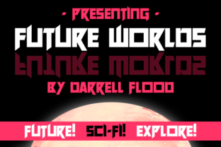 Future Worlds Font By Dadiomouse