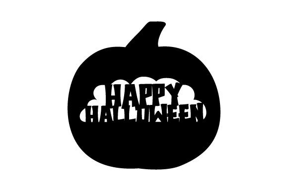 Happy Halloween Pumpkin Halloween Craft Cut File By Creative Fabrica Crafts - Image 2