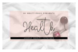 Health Font By besttypeco