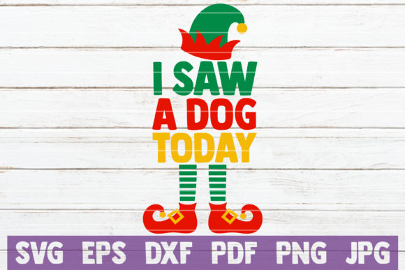 I Saw a Dog Today Graphic By MintyMarshmallows Image 1